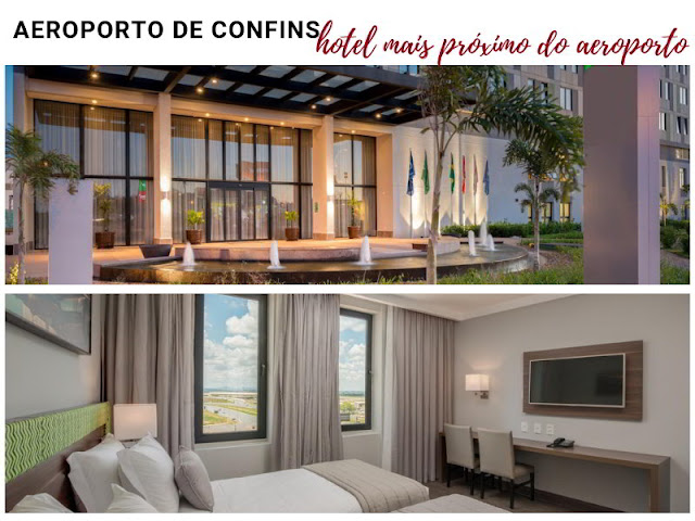 hotel proximo do aeroporto de Confins Belo Horizonte