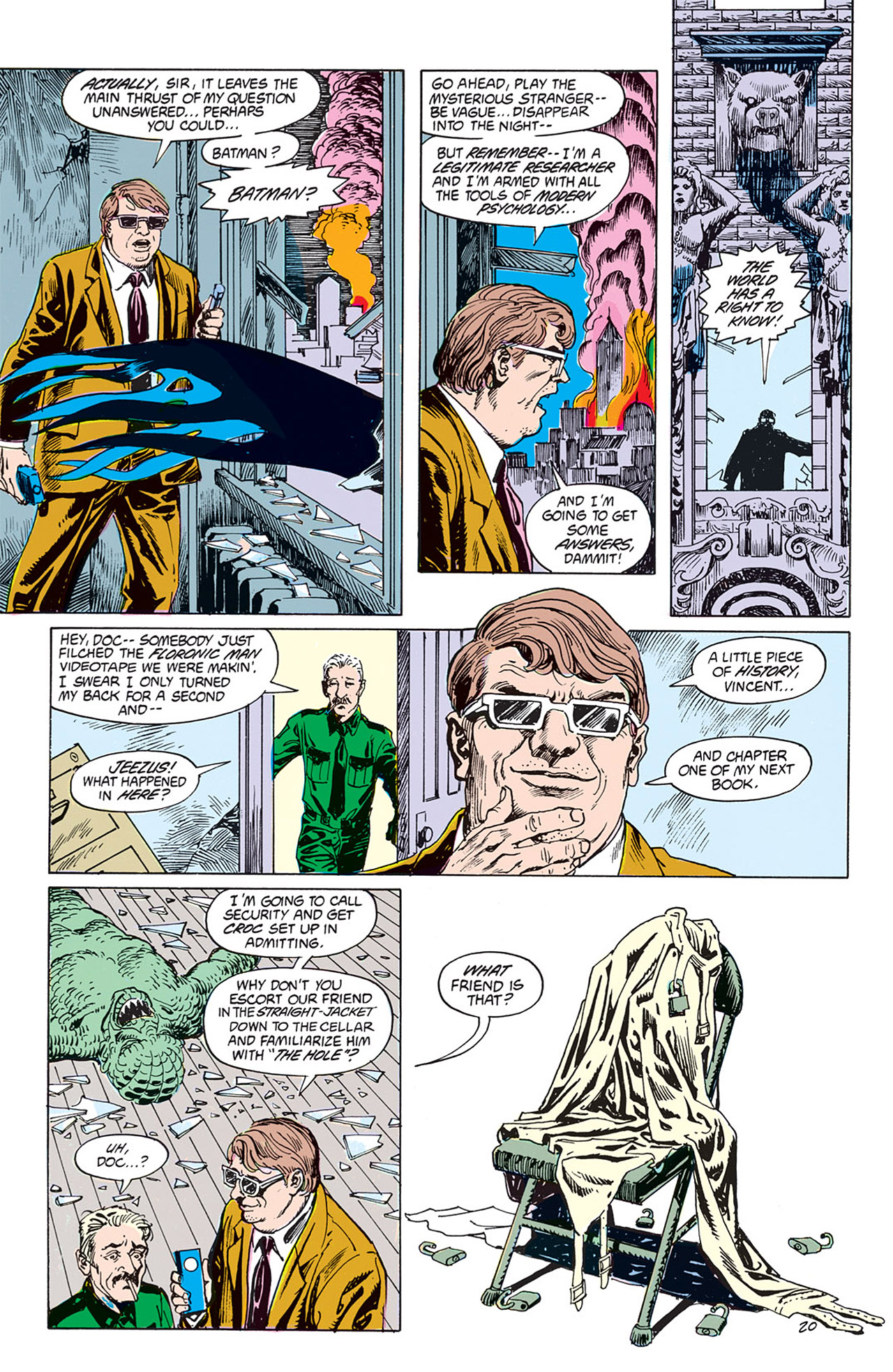Swamp Thing (1982) Issue #66 #74 - English 20