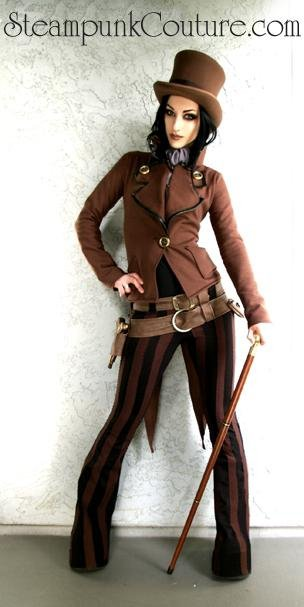 Steampunk Fashion: Doubt Thou The Stars Are Fire: Steampunk Couture