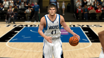 NBA 2K13 Andrei Kirilenko Cyberface Patch