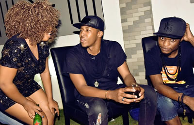 Idris Sultan New Girlfriend Photos