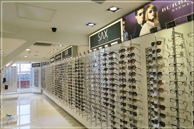 Óculos na SAX Department Ciudad del Este