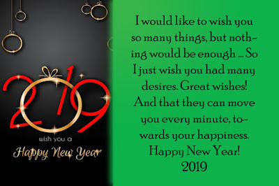 Happy New Year 2019- You Are Source of Happiness