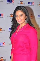 Sree Mukhi in Pink Kurti looks beautiful at Meet and Greet Session at Max Store (50).JPG