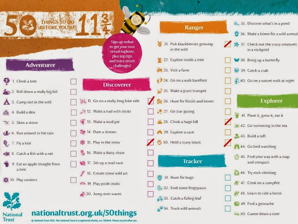 50 things to do before you're 11¾