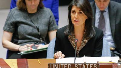 EEUU amenaza a países que voten en la ONU en contra de Israel