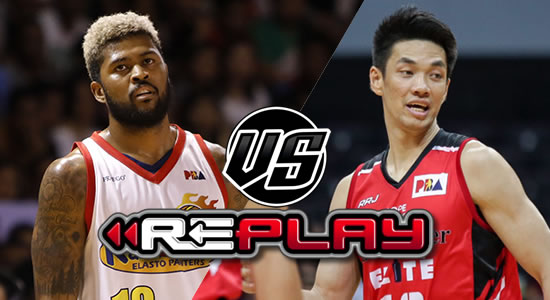 Video Playlist: Rain or Shine vs Blackwater replay 2019 PBA Philippine Cup