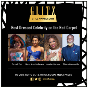 Full list of Nominees for Glitz Style Awards 2018 out!