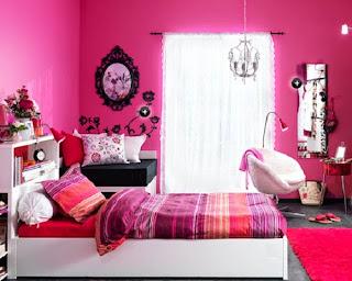 decorar cuarto niña rosa
