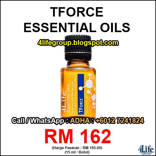 foto 4Life Essential Oils TForce