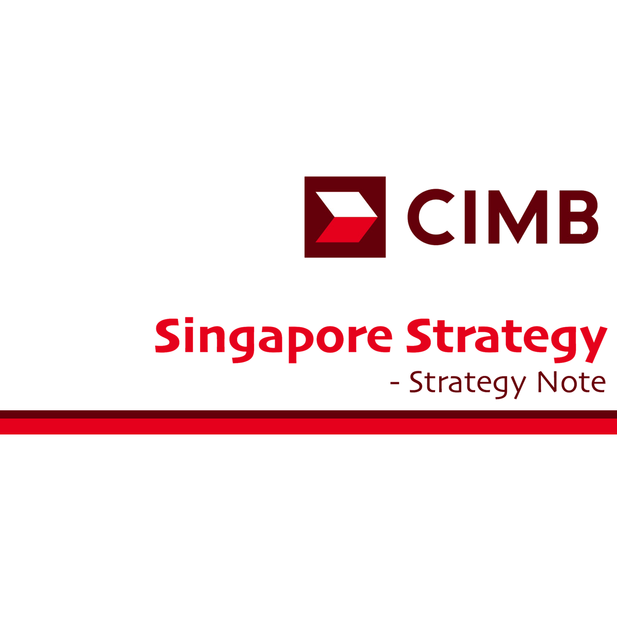 Singapore Stock Market Strategy - CGS-CIMB Research | SGinvestors.io