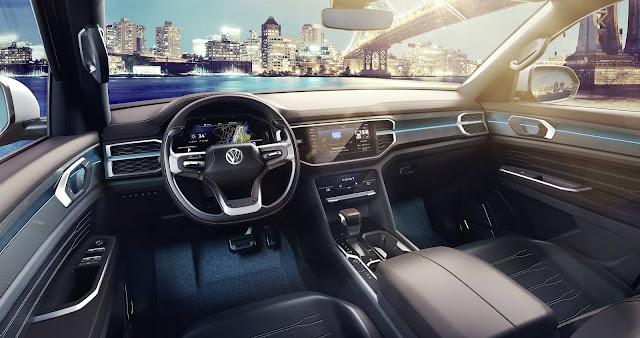 Volkswagen Atlas Tanoak - interior