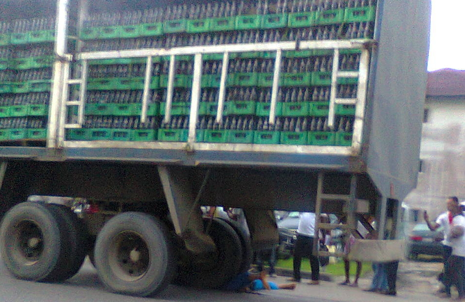 7up trailer crushed man port harcourt