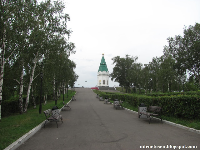 Красноярск - Часовня Параскевы-Пятницы с 10-рублёвой купюры