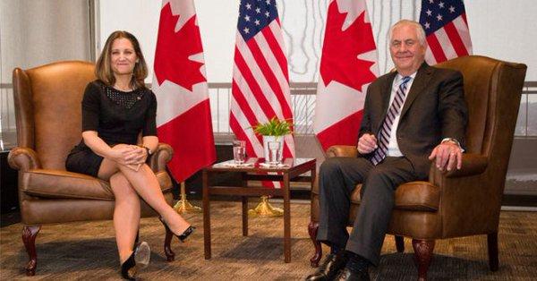 EE.UU y Canadá anuncian sanciones más fuertes para el régimen venezolano en el primer trimestre de 2018
