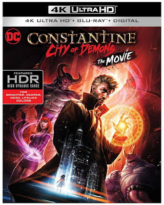 Constantine City Of Demons The Movie 4k Ultra Hd