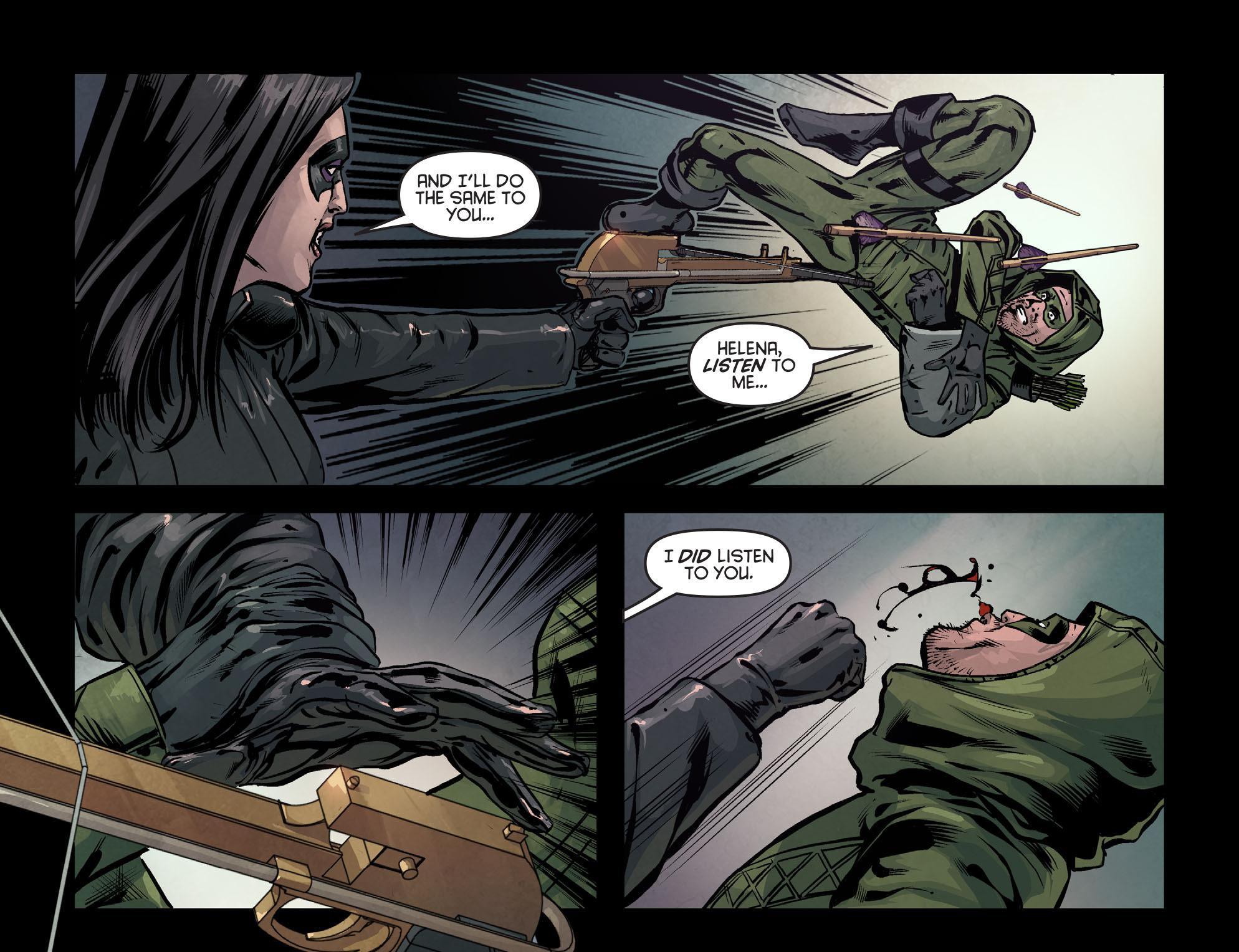 Read online Arrow: Season 2.5 [I] comic -  Issue #7 - 5