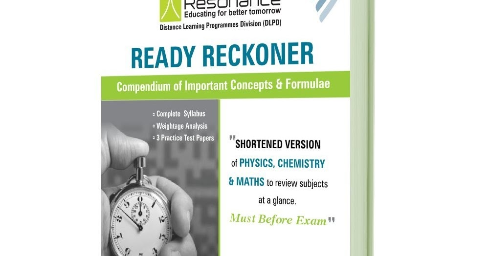 Free material for engineering entrance exams download free free material for engineering entrance exams download free resonance physics final cheat sheet ready reckoner with problems fandeluxe Choice Image