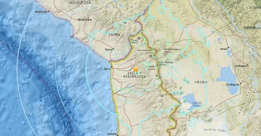 TERREMOTO EN CHILE de 6.3 Grados (Hoy Martes 10 Octubre 2017) Sismo Temblor EPICENTRO Putre - ONEMI - www.onemi.cl