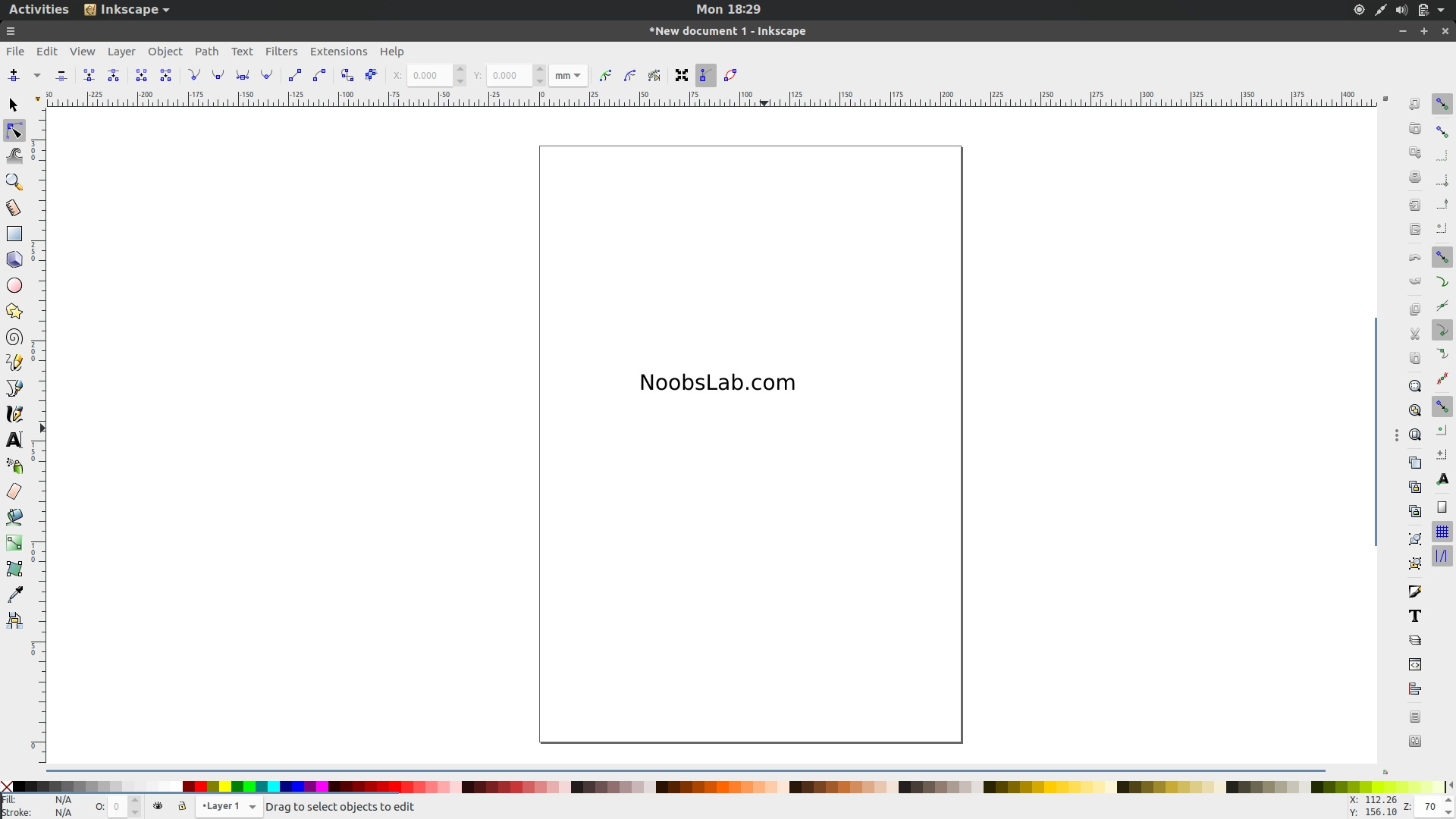 Draw Freely Vector Graphics Using Professional Inkscape