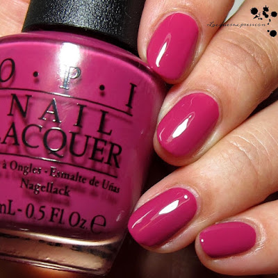 nail polish swatch of spare me a french quarter by opi