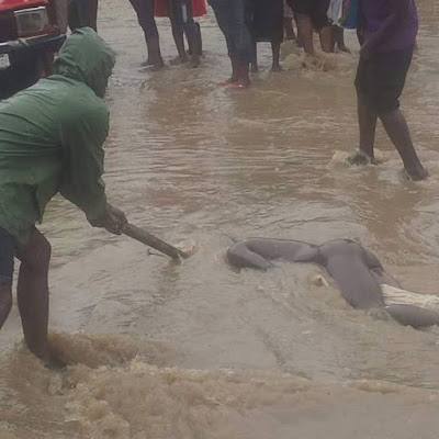 Dead Body Found Floating In Aba After Heavy Rainfall