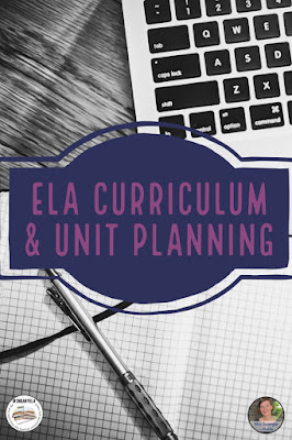 Get new ideas for setting up long range ELA plans for your classroom from #2ndaryELA! #teaching #languagearts #curriculum