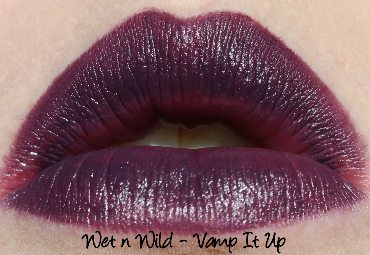 Wet n Wild Megalast - Vamp It Up lipstick swatch