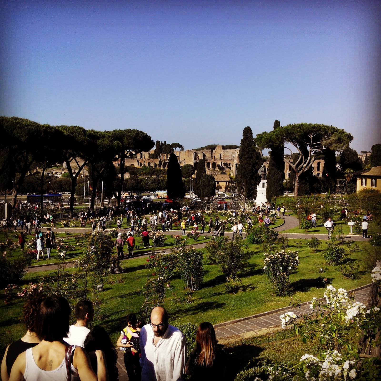 Giardino Delle Rose Roma