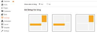 Cara pasang iklan adsense di blog secara otomatis