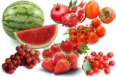 Trái cây màu đỏ - giúp sản sinh cung cấp đủ collagen cho da