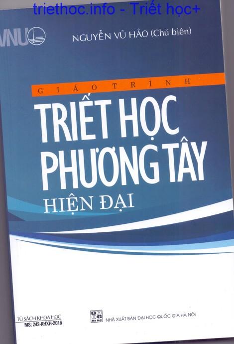 Giáo trình triết học phương Tây hiện đại - Nguyễn Vũ Hảo