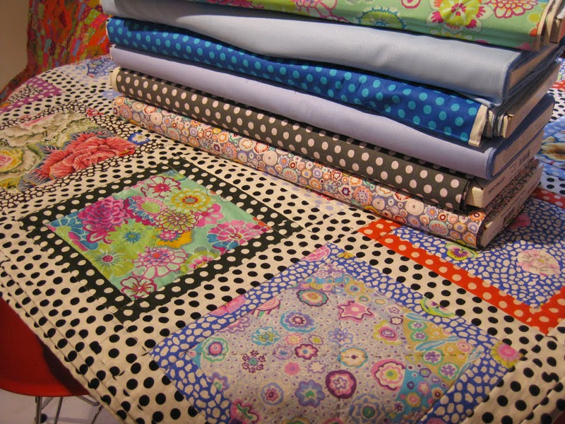 Fabrics and quilt