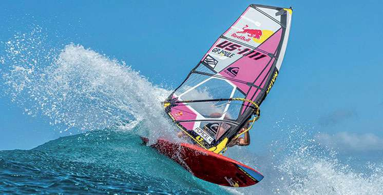 the view from fez windsurfing world cup in morocco