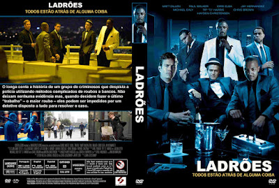 Filme Ladrões 2010 DVD Capa