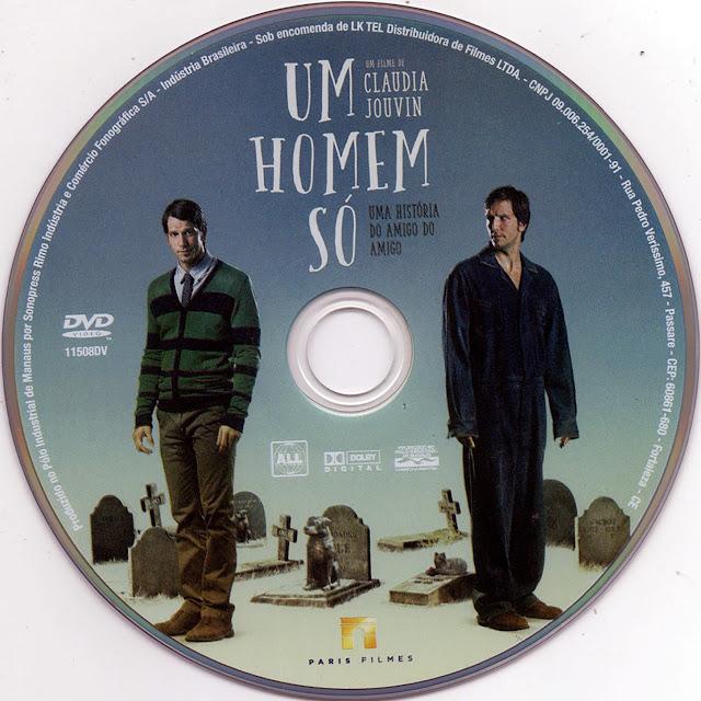 Label DVD Um Homem Só