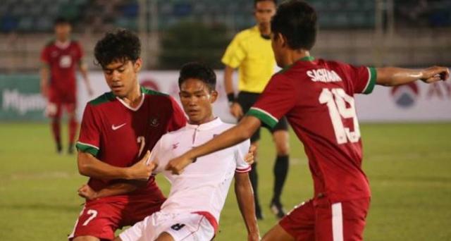 Meski Kalah di Babak Pertama, Akhirnya Tim Garuda U-18 Menang 2-1 atas Mynamar