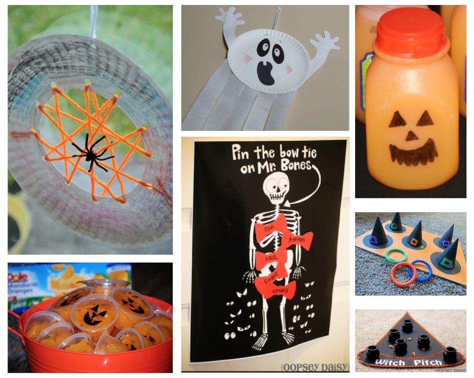 Home Confetti Halloween Classroom Party Ideas