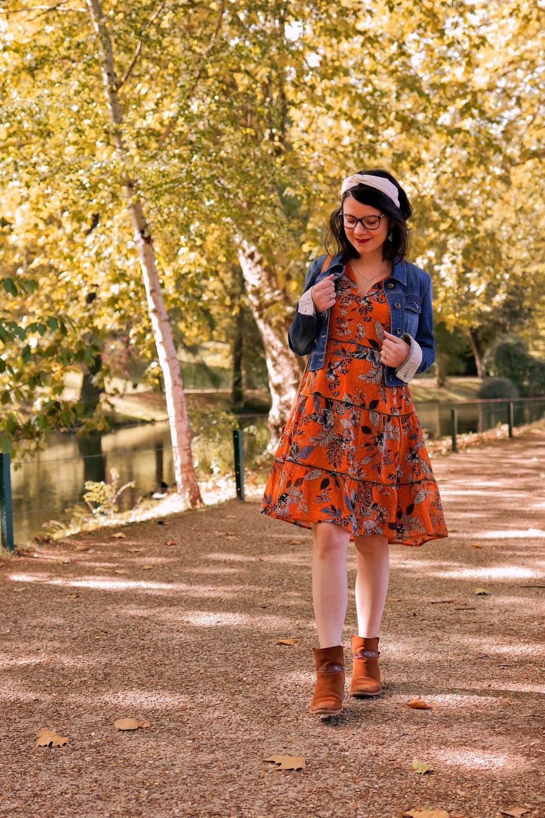 look grossesse robe automne parly 2 ambassadrice