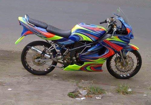 Modifikasi Ninja 150 R Motor Ninja Racing