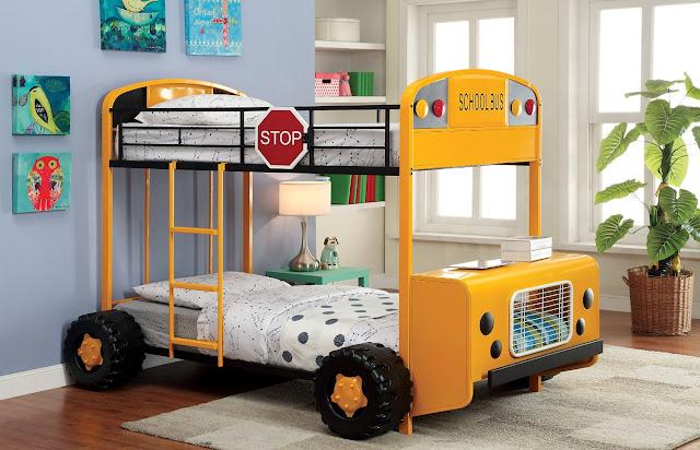 giường tầng cho bé độc đáo và đẹp mắt
