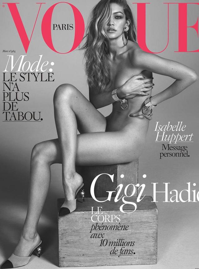 Gigi Hadid en Vogue