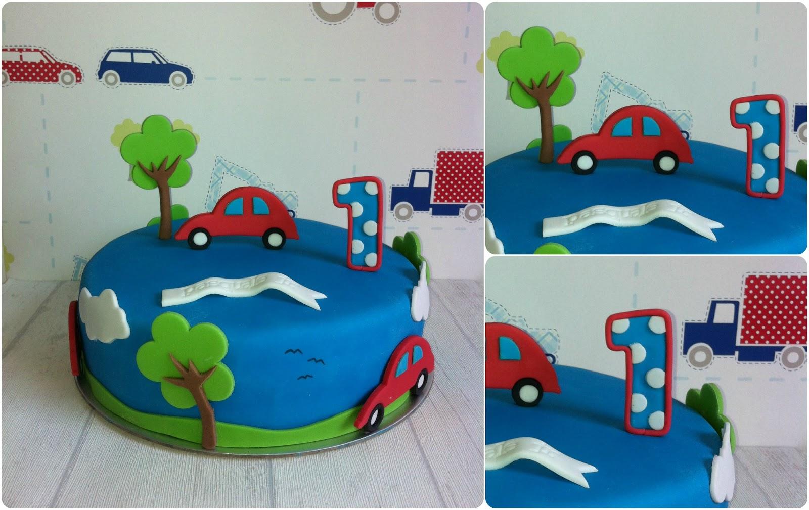 taart auto Taarten van Elena en Marcela: Een auto taart taart auto