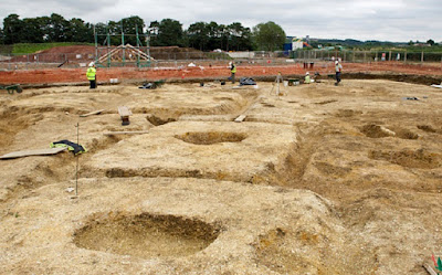 More on Iron Age village uncovered in East Yorkshire