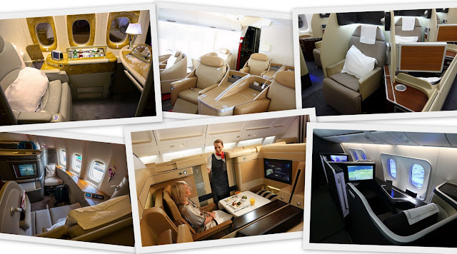 Passion For Luxury 9 Best First Class Cabins In The