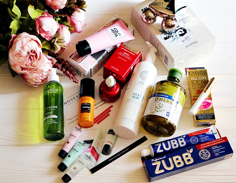 «Хвастопост»: Мои покупки за август и анонс тестируемых средств. My beauty haul.