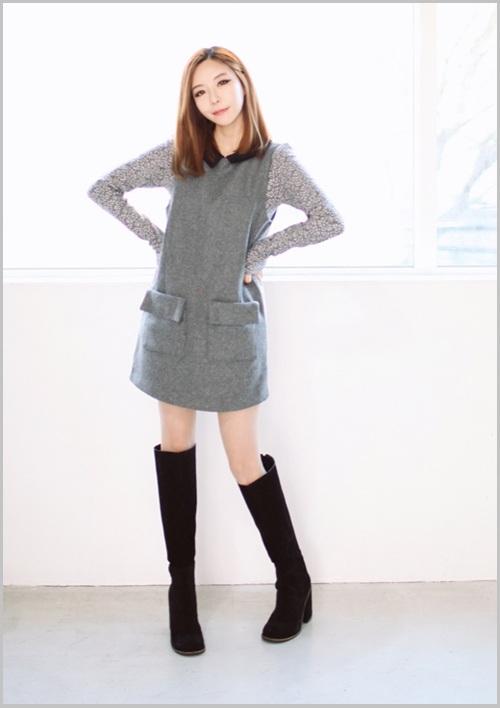 Đầm, váy dáng suông thả eo 5