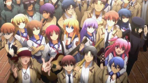 Angel Beats - anime sedih