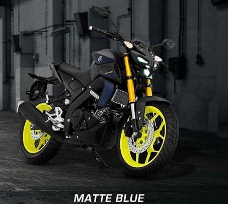 Yamaha MT 15 Matte Blue