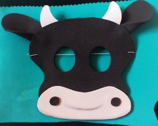 máscara de buey